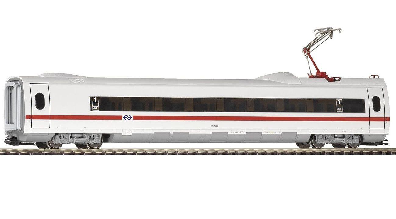 """PIKO Personenwagen """"ICE 3 Personenwaggon 2 Kl mit Stromabnehmer NS"""" Spur H0 Kindermode/Spielzeug/Autos, Eisenbahn & Modellbau/Modelleisenbahnen/Loks & Wägen"""
