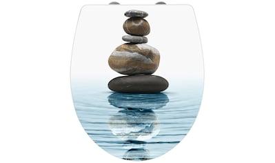 WENKO WC-Sitz »Meditation«, Mit Absenkautomatik kaufen