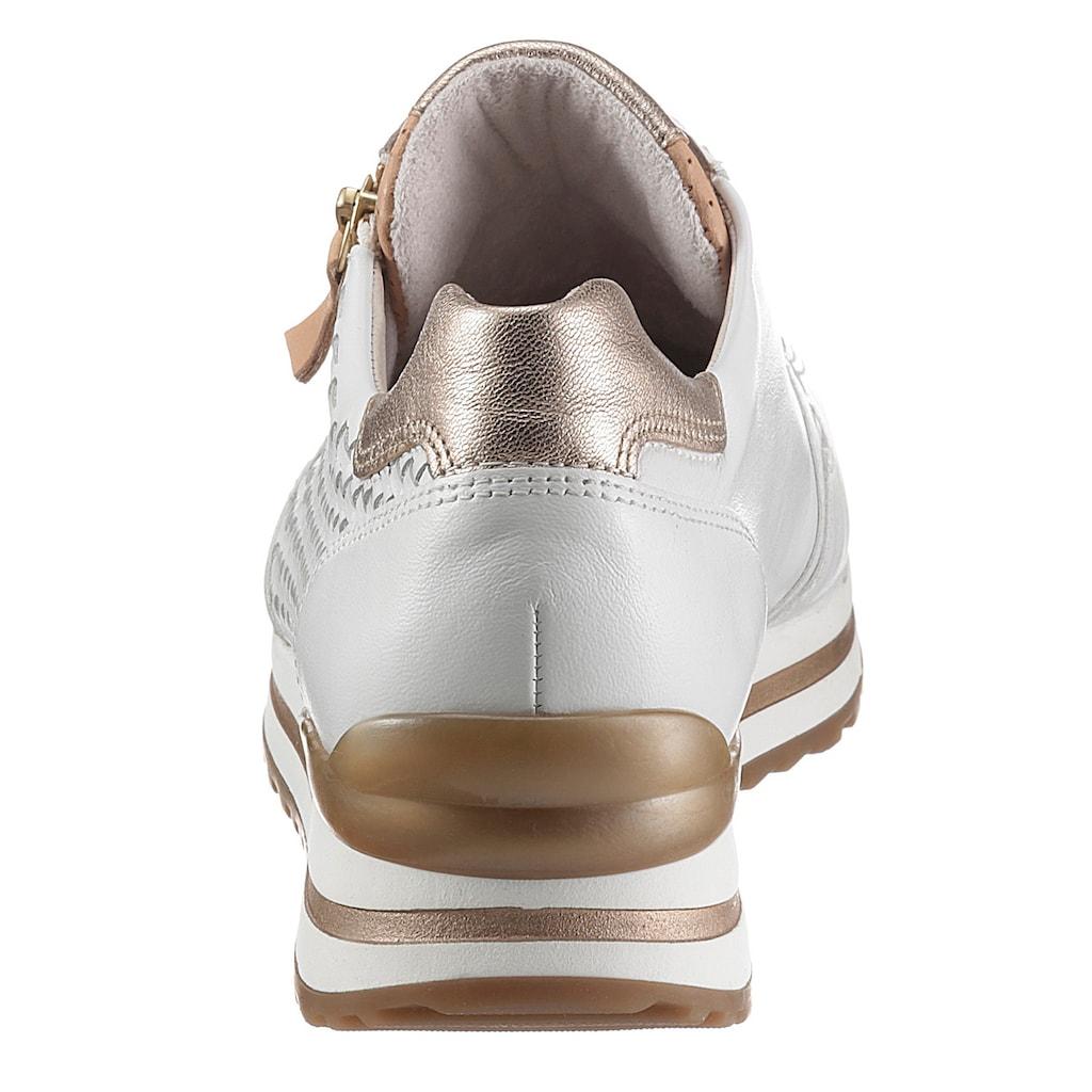 Gabor Keilsneaker »TURIN«, mit Flechtmuster