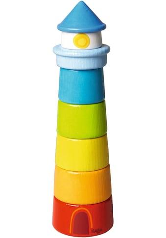 Haba Stapelspielzeug »Leuchtturm«, (7 tlg.), Made in Germany kaufen