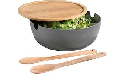 "Esmeyer Salatschüssel ""Brooklyn"", Bambus, (Set) kaufen"