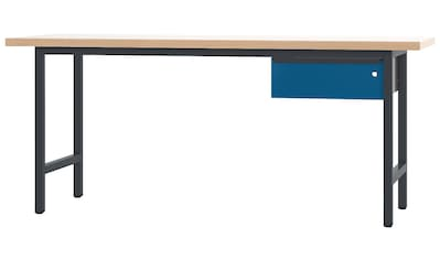 PADOR Werkbank »700.0.0.1.700«, L/T/H: 200x70x85,5 cm, abschließbar kaufen