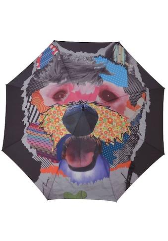 doppler® Stockregenschirm »Modern Art, Patchdog« kaufen