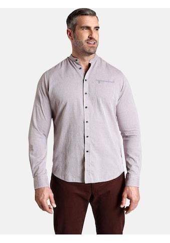 Charles Colby Langarmhemd »DUKE LITTON«, mit Stehkragen kaufen
