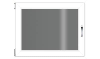RORO TÜREN & FENSTER Kunststoff - Fenster BxH: 80x60 cm, ohne Griff kaufen