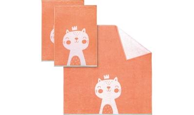 Dyckhoff Handtuch Set »Kitty«, mit niedlichem Kätzchen kaufen