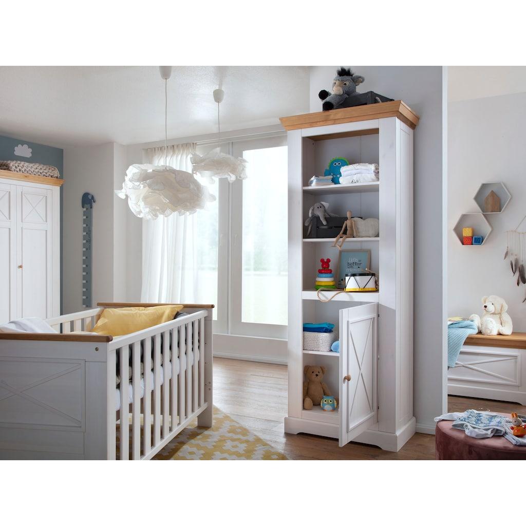 Premium collection by Home affaire Standregal »Kim«, aus Massivholz, hochwertig verarbeitet