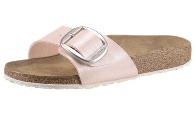 Birkenstock Pantolette »Madrid«, mit auffälliger Schnalle, schmale Schuhweite kaufen