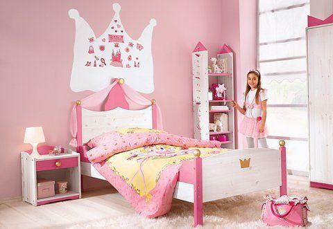Silenta Kinderbett, Made in Germany rosa Kinder Kinderbett Kinderbetten Kindermöbel