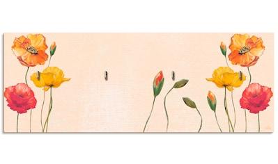 Artland Schlüsselbrett »Bunte Mohnblumen« kaufen