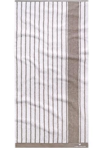 TOM TAILOR Strandtuch »Navy Stripes«, (1 St.), mit maritimen Muster kaufen