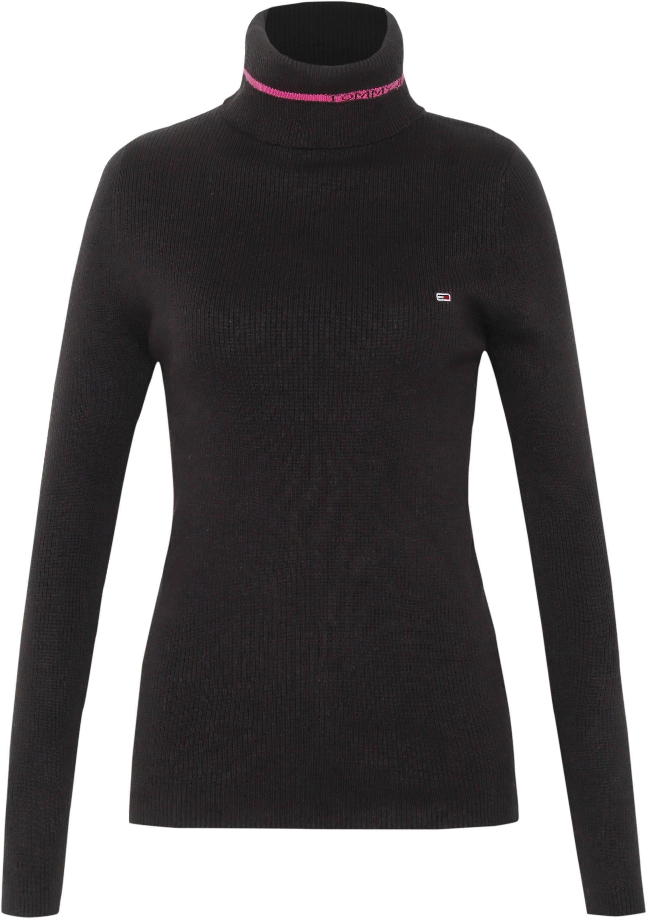 TOMMY JEANS Rollkragenshirt TJW LOGO TURTLENECK SWEATER | Bekleidung > Shirts > Rollkragenshirts | Tommy Jeans