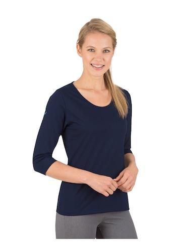 Trigema 3/4 Arm Shirt aus Biobaumwolle kaufen