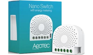 Z - Wave Smart Home Zubehör »Nano Switch mit Energiemessfunktion  -  Z - Wave Plus« kaufen