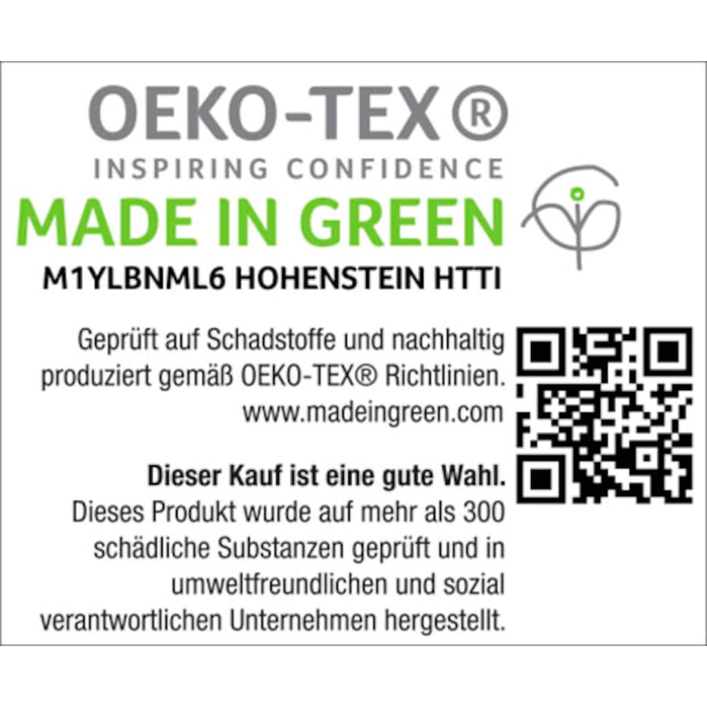 H.I.S Unisex-Bademantel »Hannes«, mit farblich abgesetzten Gürtel und Kragen