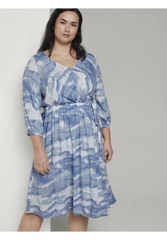 TOM TAILOR MY TRUE ME Wickelkleid »Midi-Wickelkleid im Batik-Look« kaufen