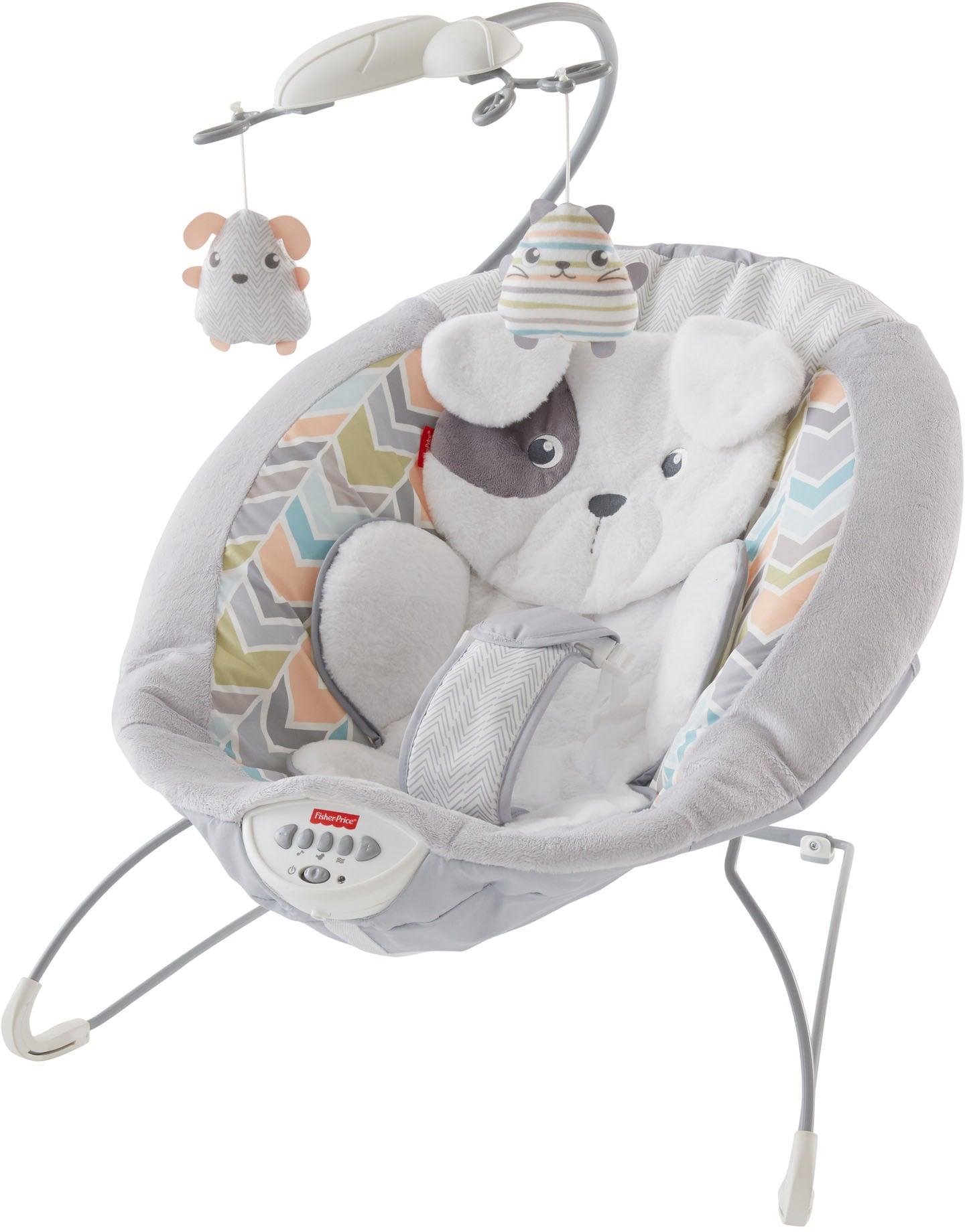 Fisher-Price Babywippe Deluxe Babywippe, bis 9 kg bunt Baby Babywippen Bauchtragen, Babyschaukeln