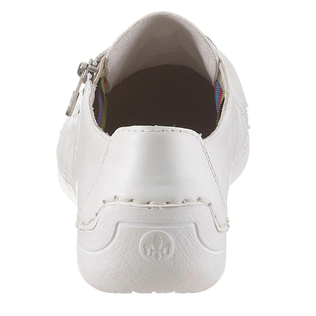 Rieker Sneaker, mit seitlichem Logodruck