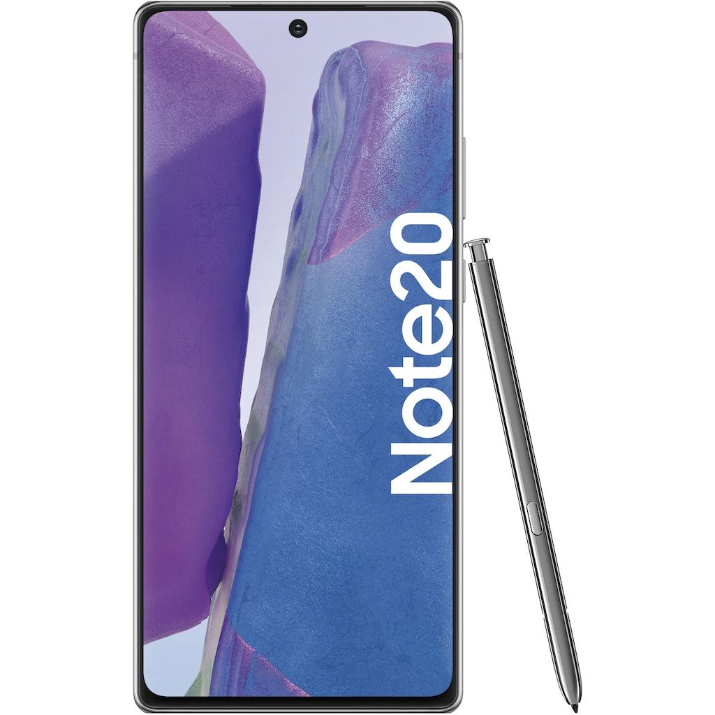 """Samsung Smartphone »Galaxy Note20«, (16,95 cm/6,7 """", 256 GB Speicherplatz, 64 MP Kamera), 3 Jahre Garantie"""