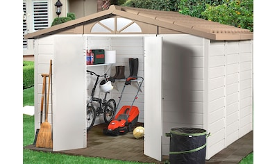 GAROFALO Kunststoffhaus »TUSCANY 280«, BxTxH: 283x243x225 cm kaufen