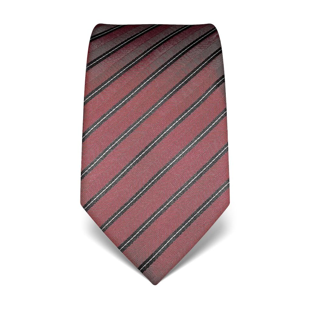 Vincenzo Boretti Krawatte in mehrfarbigem Streifen-Design
