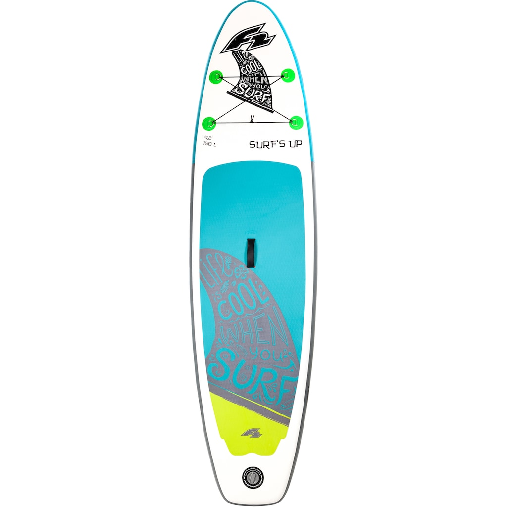 F2 Inflatable SUP-Board »F2 Surf's Up Kids«, (Set, 5 tlg.)
