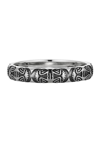CAÏ Ring »925/- Sterling Silber oxidiert Maske Amerika« kaufen