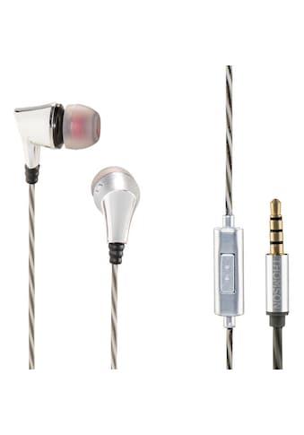 Thomson EAR3207SI Kopfhörer, In - Ear, Mikrofon, Silber kaufen