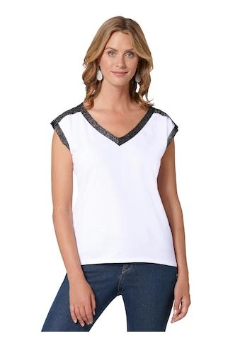 Ambria Shirttop mit V - Ausschnitt kaufen