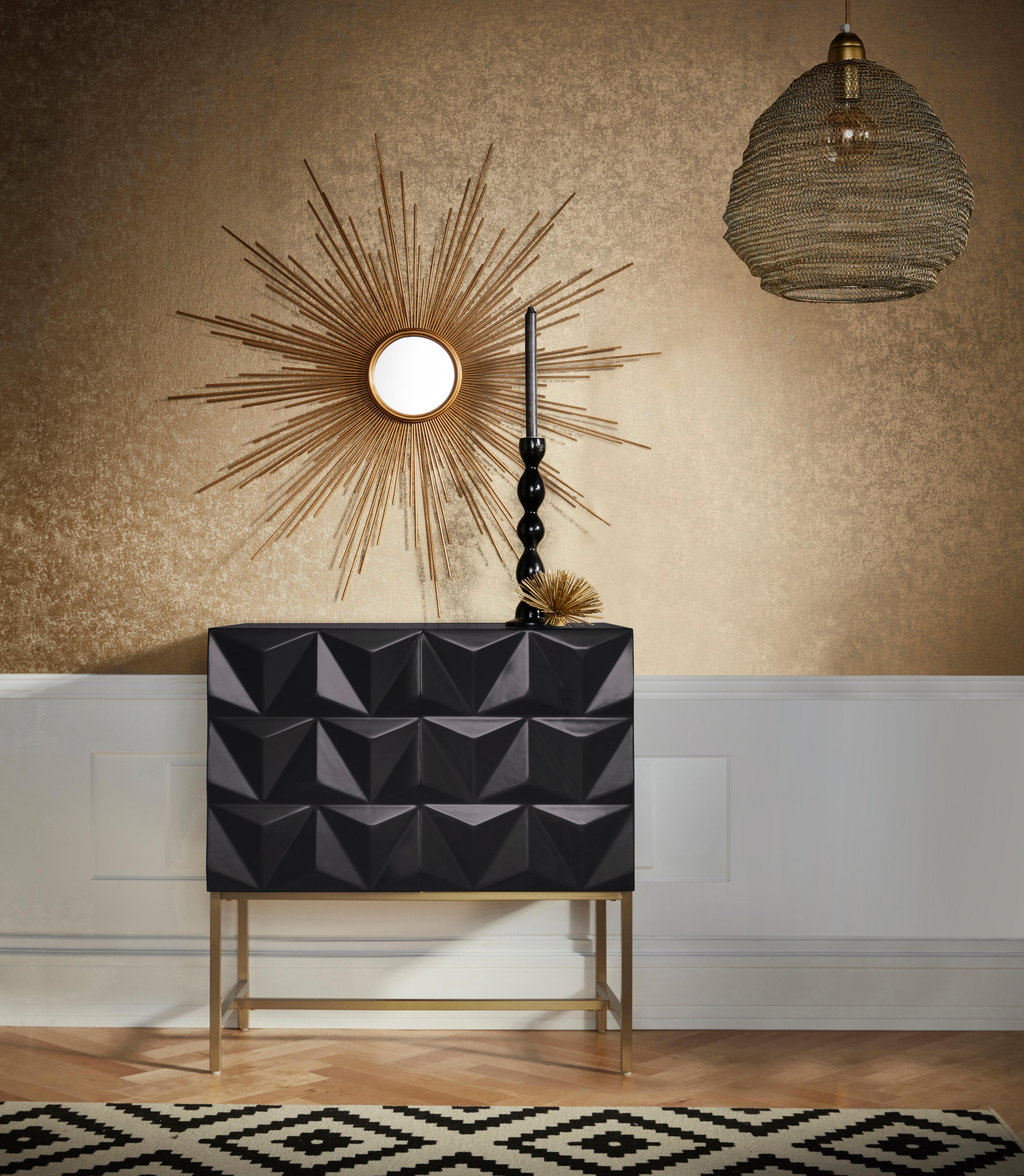 Leonique Sideboard »Rovuma« mit zwei Türen, mit Soft-Close-Funktion, Breite 80 cm