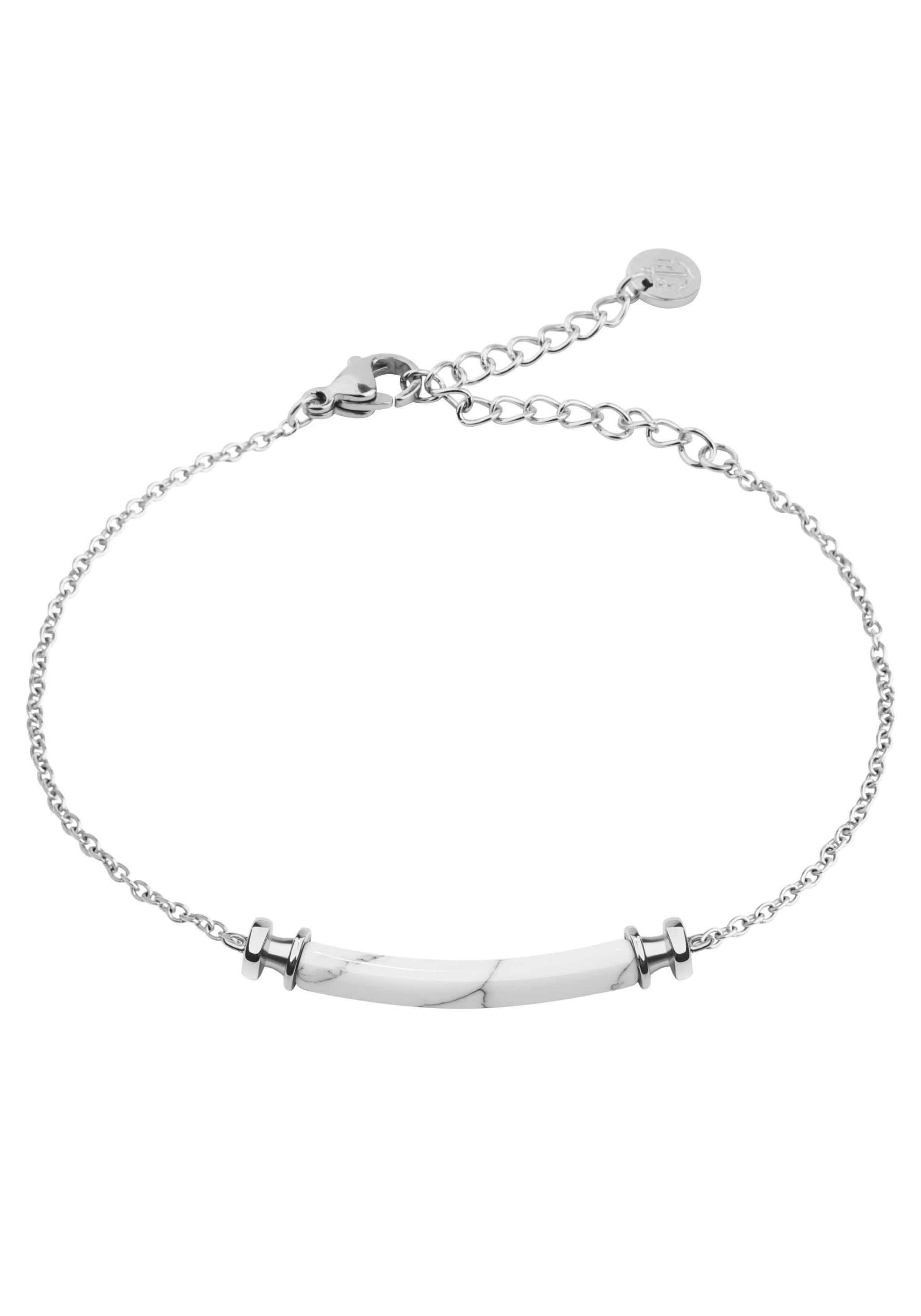 PAUL HEWITT Armband Armkette Starboard Edelstahl Marble, PH-B-WM-S | Schmuck > Armbänder > Armketten | Paul Hewitt