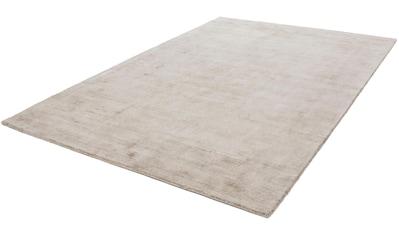 calo-deluxe Teppich »Viteox 200«, rechteckig, 13 mm Höhe, Viskose, Kurzflor, Wohnzimmer kaufen