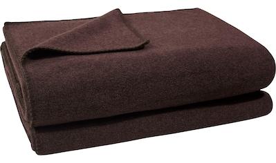 zoeppritz Wohndecke »Soft-Fleece«, mit Häkeleinfassung kaufen