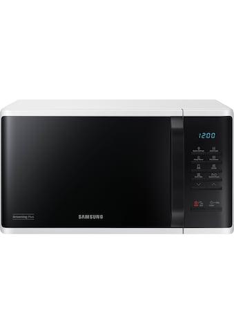 Samsung Mikrowelle »MG23K3513AW/EG«, Mikrowelle-Grill, 800 W kaufen
