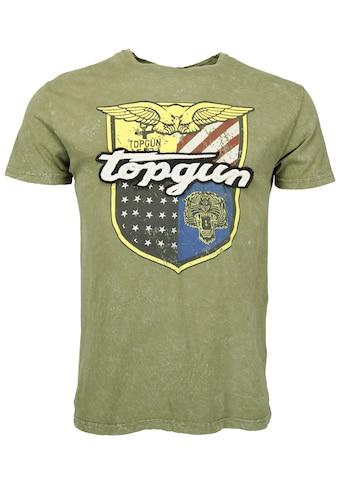 TOP GUN T-Shirt »Insignia«, sportlicher Schnitt kaufen