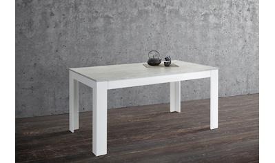 Homexperts Esstisch »Zabona«, Esstisch, Breite 160 cm kaufen