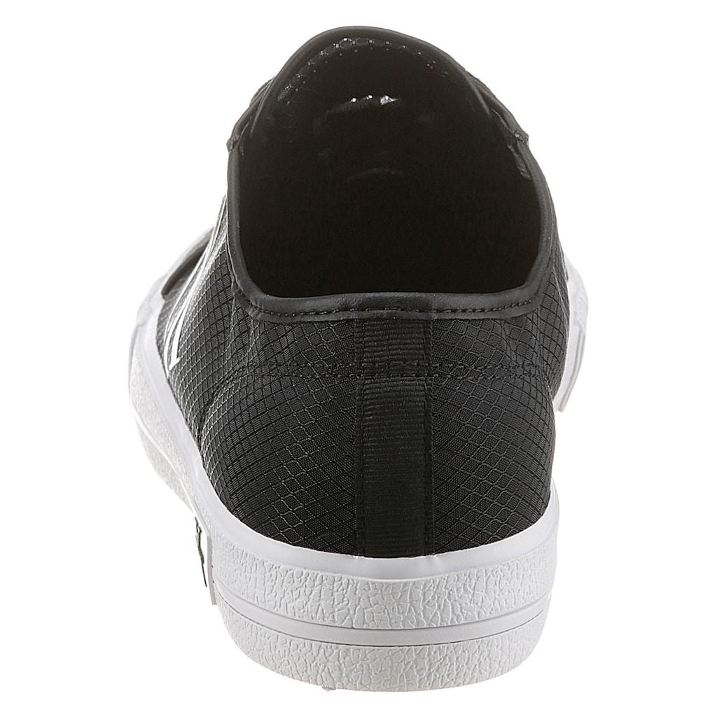 Calvin Klein Sneaker, mit leicht transparentem Schaft