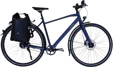 HAWK Bikes Trekkingrad »HAWK Trekking Gent Super Deluxe Plus Ocean Blue«, 8 Gang Shimano Nexus Schaltwerk kaufen