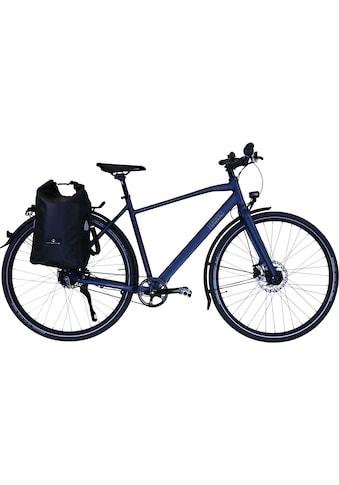 HAWK Bikes Trekkingrad »HAWK Trekking Gent Super Deluxe Plus Ocean Blue«, 8 Gang,... kaufen