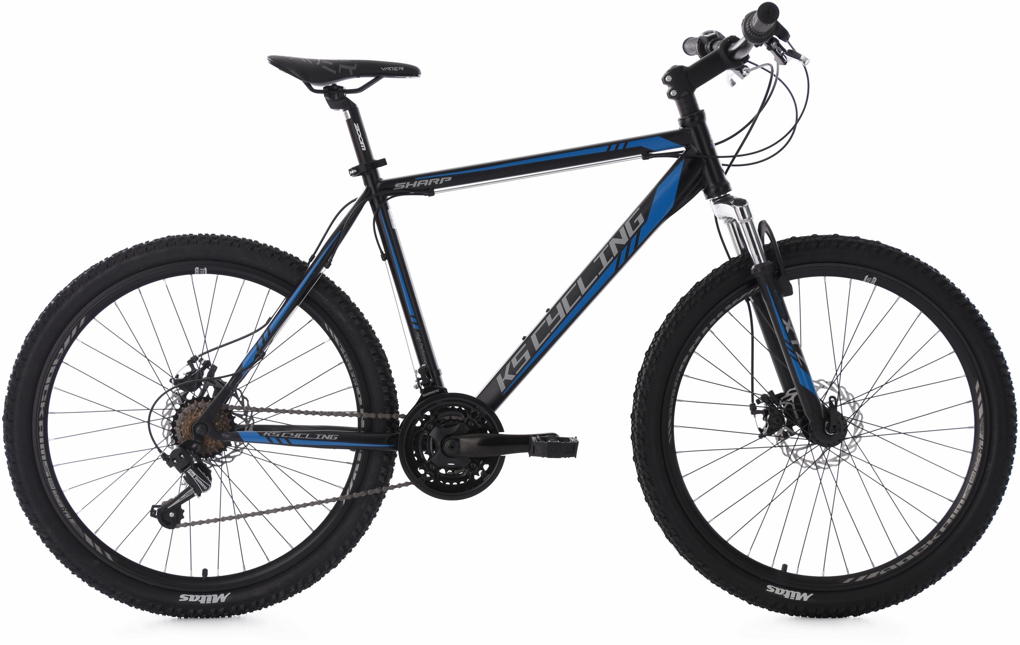 ks cycling mountainbike sharp 21 gang shimano tourney. Black Bedroom Furniture Sets. Home Design Ideas
