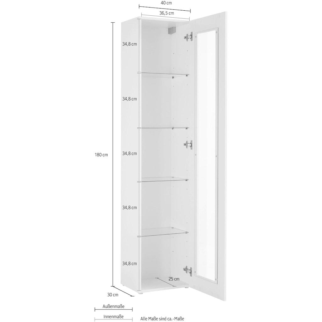 Tecnos Vitrine »Maruska«, Höhe 180 cm