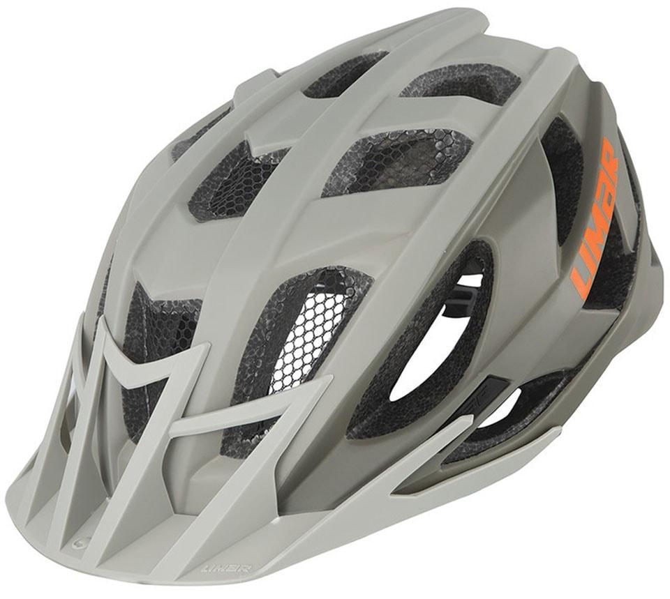 LIMAR Fahrradhelm 888 grau Rad-Ausrüstung Radsport Sportarten