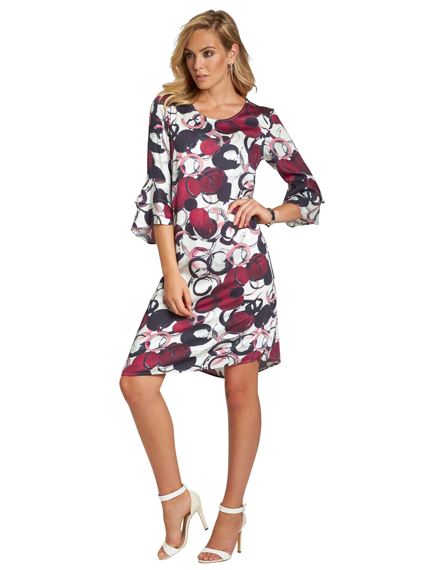création L Kleid in leichter A-Linie