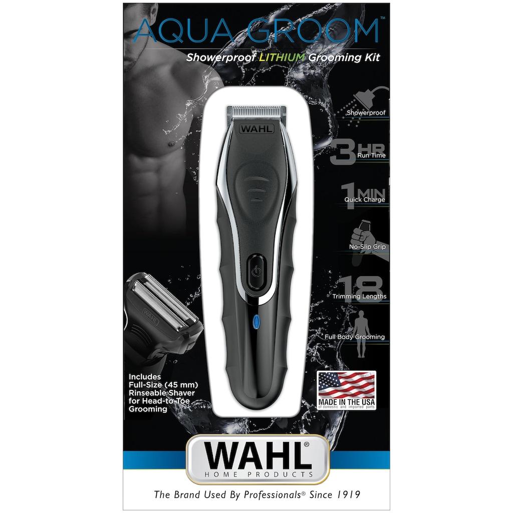 Wahl Multifunktionstrimmer »09899-016 Aqua Groom«, 12 Aufsätze, duschfester Bodygroomer