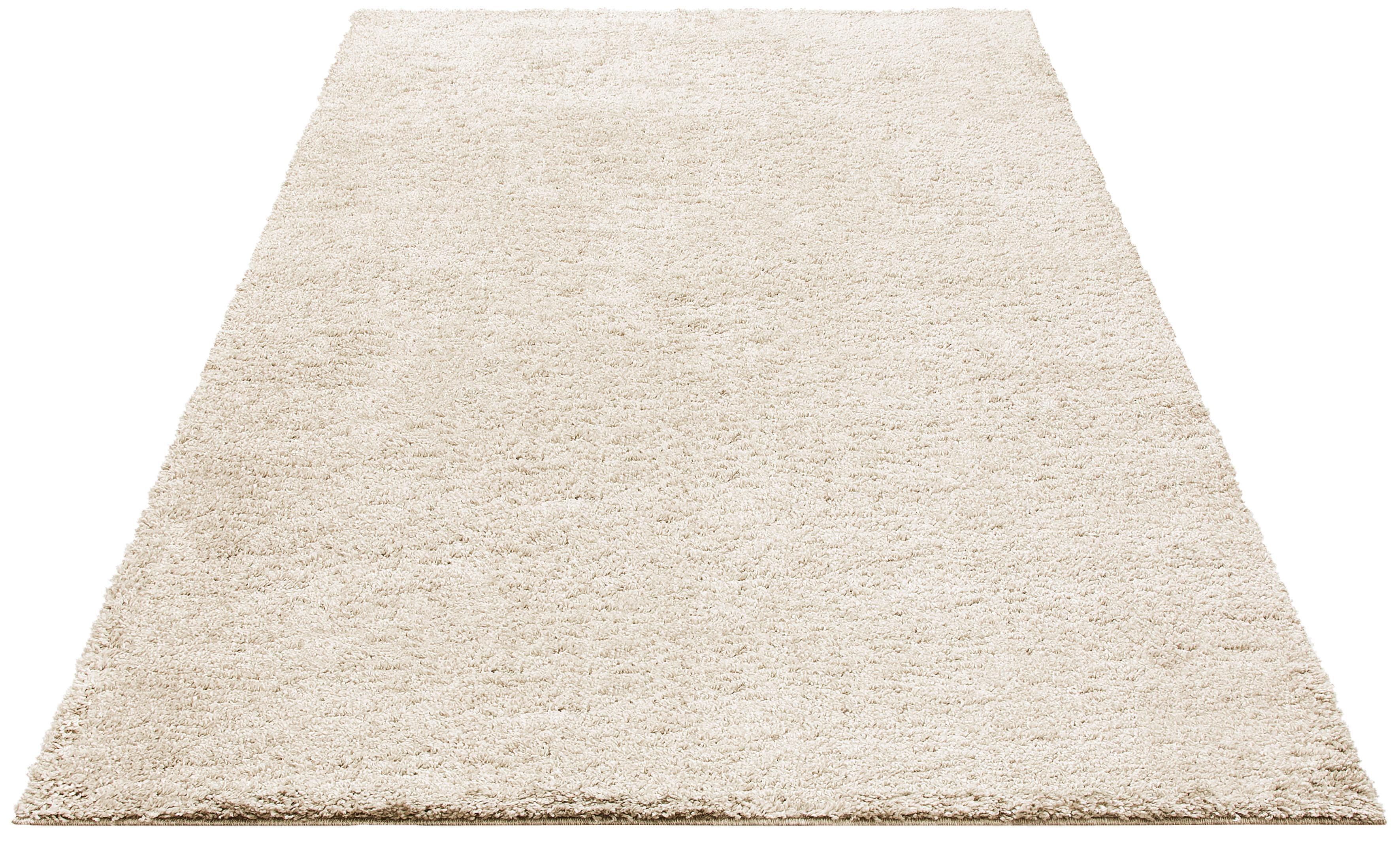 Hochflor-Teppich Shaggy Soft Bruno Banani rechteckig Höhe 30 mm maschinell gewebt