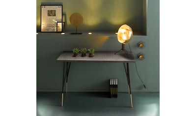INOSIGN Konsolentisch »Clinch«, aus schönen schwarzen Metallbeinen und goldfarbenen... kaufen