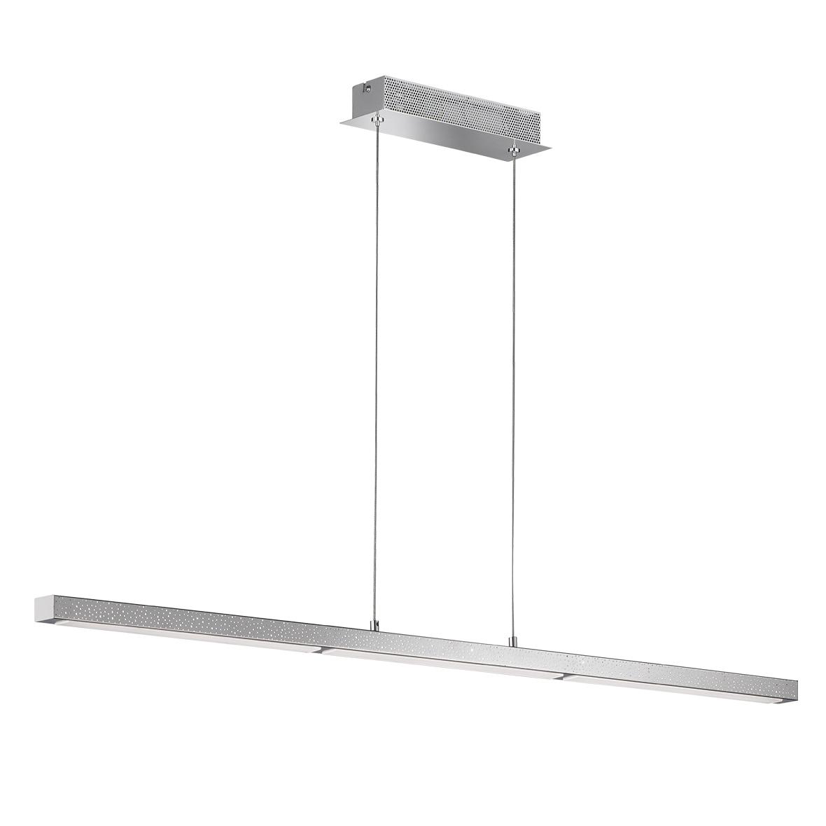 WOFI LED Deckenleuchte Levi, LED-Board, Warmweiß