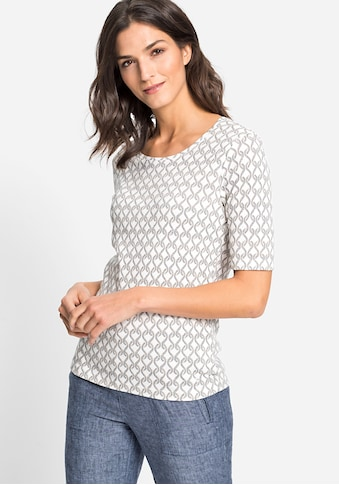 Olsen Rundhalsshirt, mit maritimem Muster kaufen