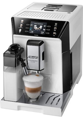 De'Longhi Kaffeevollautomat »PrimaDonna Class ECAM 550.65.W, weiß« kaufen