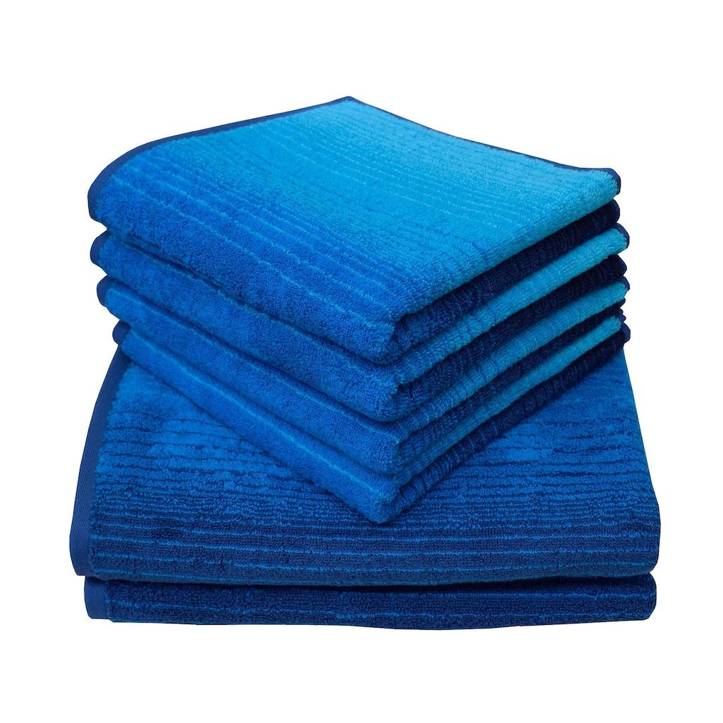 Dyckhoff Handtuch Set »Colori«, mit Farbverlauf